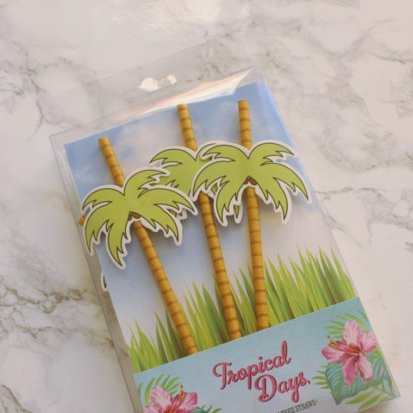 Palmboom rietjes