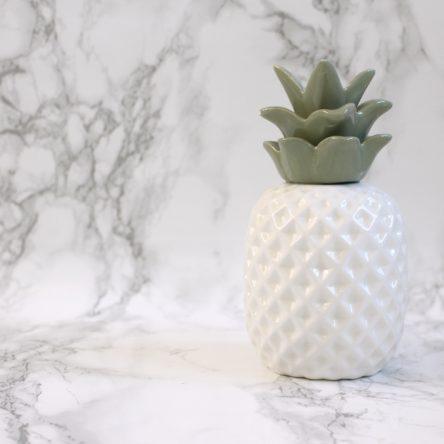 Keramieken Ananas mint