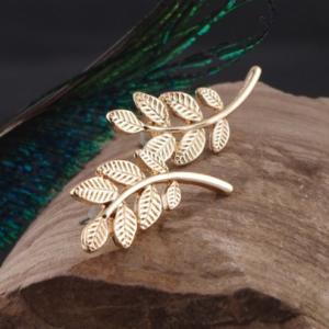 leaf oorbellen