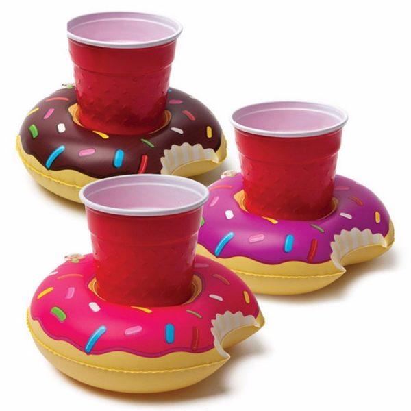 drijvende donut bekerhouder