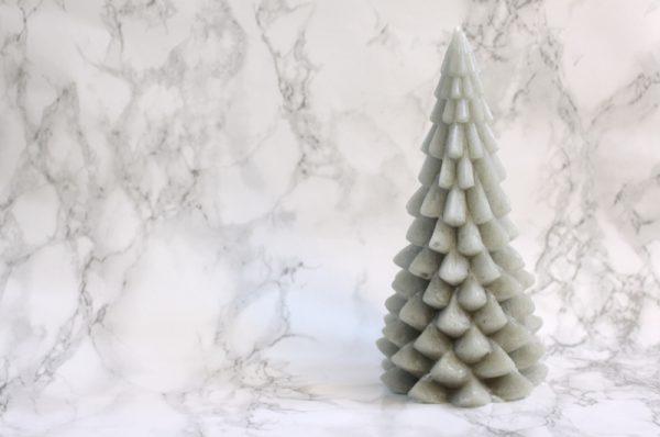 Kerstboom kaars eucalyptus
